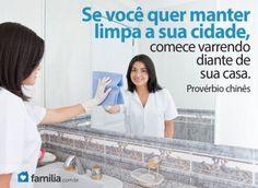 Familia.com.br   Como limpar profundamente seu banheiro. #limpeza #lar