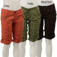 07cf157581e1d @Overstock - Be comfortable in a pair of casual shorts by Live A  LittleWomen's clothing