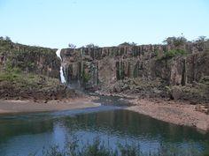 cataratas del Iguazu secas