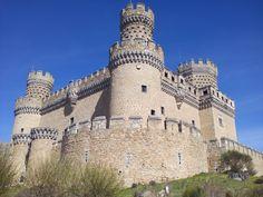 Castillo de Manzanares el Real, Madrid, España