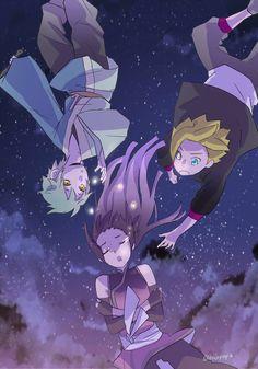 Sumire, Boruto and Mitsuki Naruto And Sasuke, Anime Naruto, Boruto And Sarada, Naruto Girls, Shikamaru, Naruto Uzumaki, Naruto Gaiden, Naruhina, Cute Pokemon Wallpaper