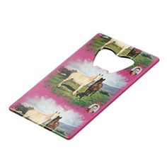 Horses/Cabalos/Horses Credit Card Bottle Opener - #customizable create your own personalize diy