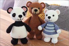 Love Bear, Bffs, Crochet Toys, Creations, Teddy Bear, Pattern, Animals, Amigurumi, Crochet Stuffed Animals