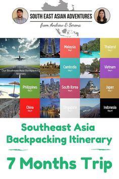 month vietnam travel itinerary