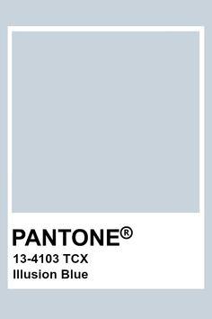 Pantone Illusion Blue Colour Pallette, Colour Schemes, Color Trends, Pantone Colour Palettes, Pantone Color, Pantone Paint, Paint Color Palettes, Pantone Swatches, Color Swatches