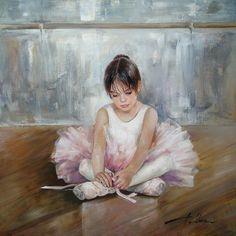"""Маленькая """"прима""""-балерина Танцевала в комнате пустой... Морозова Инесса…"""