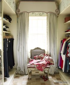 Romantic style dressing room