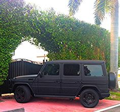mercedes-g-wagon-matte-black-picture. Mercedes G Wagon, Mercedes G55, Mercedes Benz G Class, Lamborghini, Ferrari, G Wagon Matte Black, Black G Wagon, Sexy Cars, Hot Cars