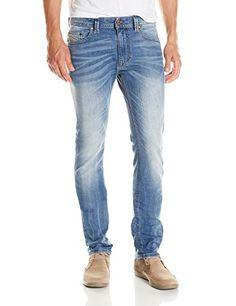 d30e13d0 Diesel Men's Thavar Straight Slim Leg Jean 0833V http://www.allmenstyle.