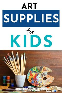 The Best Art Supplies For Kids: Affordable and Fun! - Kindergarten Prep Diy Crafts And Hobbies, Arts And Crafts Supplies, Hobbies To Try, Hobbies That Make Money, Creative Activities, Art Activities, Food On Sticks, Art Supplies Storage