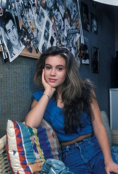Alyssa Milano. I hated her. Hate, hate, hate. I thought she was the biggest brat on TV. Lol!
