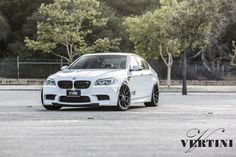 #BMW #F10 #M5 #Sedan #AlpineWhite #VertiniWheels #Monster #Burn #Provocative #Fire #Sexy #Muscle #Hot #Live #Life #Love #Follow #Your #Heart #BMWLife