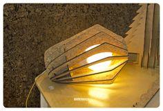 Cork Lamp - Spin S by Bomerango