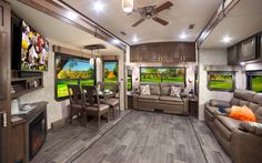 "2017 Open Range 3x by Highland Ridge RV  The Open Range 3X product line provides all the residential features of a luxury fifth wheel including stainless steel appliances, wood framed windows, stackable washer and dryer capability, arched ceiling, 7'0"" slide-out height, and much more.   See more at www.highlandridgerv.com"