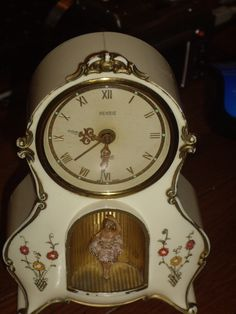 1950 Rensie Germany Musical ballerina alarm Clock