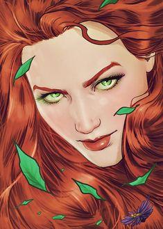 LGBT in Comics — meraofxebels: Poison Ivy in Batman Poison Ivy Batman, Poison Ivy 3, Poison Ivy Dc Comics, Catwoman, Batgirl, Comic Book Characters, Comic Books Art, Comic Art, Book Art