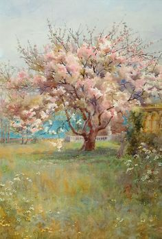 Charles Edward Georges - Blossom Time, 1900