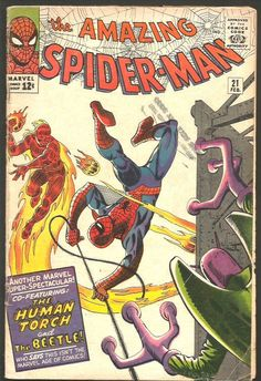 Amazing Spider-man #21 Silver Age Steve Ditko Stan Lee MarvelComics