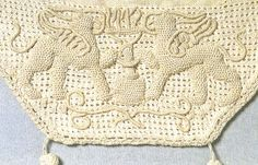 Detail of Casalguidi bag ~ Embroiderers Guild