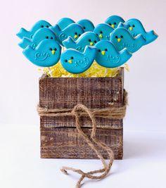 Bluebird Cookie Bouquet