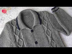 Sweater with Rombos for men (PART 2 of - olivia Kid Goku, Man Parts, Knitting Videos, Men S Shoes, Skinny Pants, Youtube, Printed Shirts, Crochet Baby, Leggings Are Not Pants