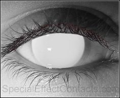 Blind Special Effect Contact Lenses