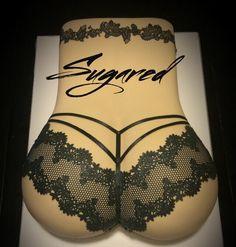 Booty Cake Bachelor Cake