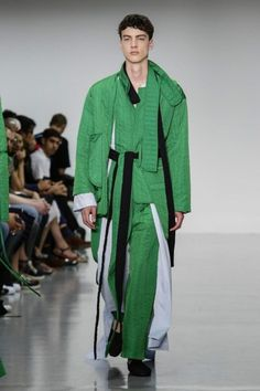 Lou Stoppard reports on the Craig Green show - Craig Green @ London Menswear S/S 2016 - SHOWstudio - The Home of Fashion Film