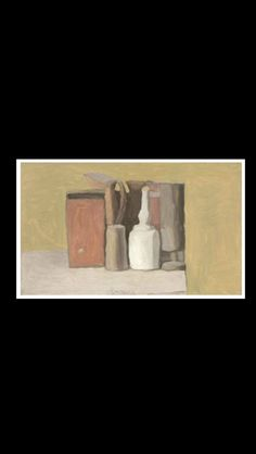 Giorgio Morandi - Natura morta, 1949 - Oil on canvas - 30,2 x 50,2 cm (*)