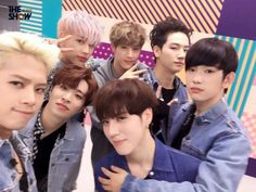 #GOT7 in The Show's twitter account.