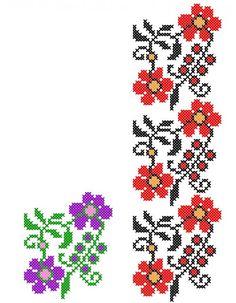 FL042 Cross Stitch Bookmarks, Beaded Cross Stitch, Cross Stitch Borders, Cross Stitching, Cross Stitch Embroidery, Embroidery Patterns, Cross Stitch Patterns, Sewing Patterns, Home Embroidery Machine