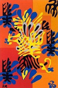 Henri Matisse ~ Le Mimosa, 1951