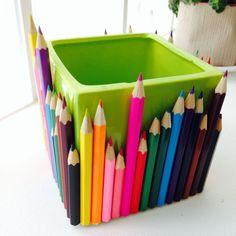pot-crayon