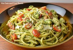 Linguine with Chicken, Tomatoes and Spinach Pesto Recipe