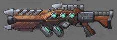 ArtStation - Stylyzed Handpainted Lazer Gun, Pablo Garcia