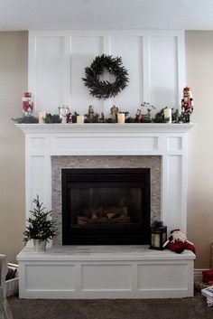 Update Brick Fireplace Raised Hearth Bottom Of Hearth Looks Built In Removing Raised Brick Fireplace Hearth – yurui.me Update Brick Fireplace Raised Hearth Bottom Of Hearth Looks Built In Removing Raised Brick Fireplace Hearth – yurui. Fireplace Hearth Decor, Small Fireplace, Farmhouse Fireplace, Home Fireplace, Faux Fireplace, Living Room With Fireplace, Fireplace Surrounds, Fireplace Design, Fireplace Ideas