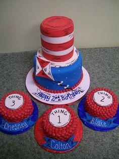 Birthday Friend/Twin cakes