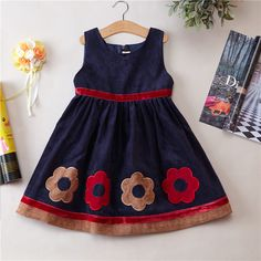 Girls Princess dress Early spring autumn and winter Dress Girls kids clothing pa. Girls Princess dress Early spring autumn and winter Dress Girls kids clothing party wear girls birt Girls Frock Design, Baby Dress Design, Baby Girl Dress Patterns, Kids Frocks Design, Baby Frocks Designs, Kids Outfits Girls, Little Girl Dresses, Girl Outfits, Baby Dresses