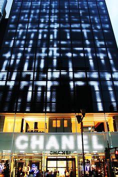 Mediamesh as a Digital Tapestry Mediamesh is an LED video display