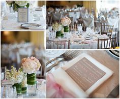 Molly Anne Photography | Wellesley Country Club Wedding Floral centerpieces