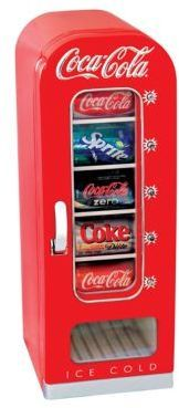 small, Coca-Cola-branded beverage refrigerator is perfect to keep drinks chilled and ready to drink in your family room, man cave, or even office. The Coca-Cola Vending Fridge holds 10 … Movie Theater Rooms, Cinema Room, Theatre Rooms, Theater Room Decor, Basement Movie Room, Home Theater Room Design, Cozy Basement, Rustic Basement, Cozinha Do Mickey Mouse