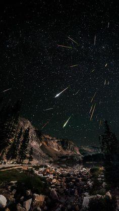 Perseid Meteor Shower at Snowy Range Credit: David Kingham
