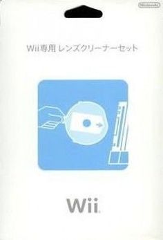 F-S-Wii-Lens-Cleaning-Set-Nintendo-Official-cleaner-import-from-Japan