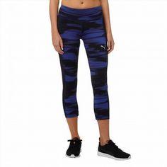 34.99$  Watch here - http://vizev.justgood.pw/vig/item.php?t=qfujexg13524 - Puma Women's Royal Blue Black Tights Workout Pants 3/4 Length Select Size CHEAP 34.99$