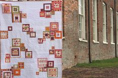 animal sherbet squares quilt | Flickr - Photo Sharing! another awesome film in the fridge creation