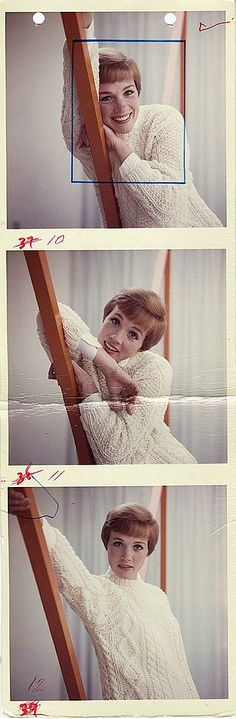 My Legends... (Julie Andrews photographed by Frank Bez ~...)