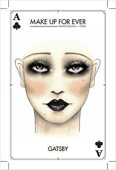 Make Up For Ever Halloween Makeup Tricks & Treats Service: 7 Top Halloween Makeup Looks – Wic. Make Up For Ever Halloween Makeup Tricks & Treats Service: 7 Top Halloween Makeup Looks – Wicked Witch… 1920 Makeup, Vintage Makeup, Flapper Makeup, 1920s Makeup Gatsby, Roaring 20s Makeup, 1920s Inspired Makeup, Great Gatsby Makeup, 1920s Flapper, Flapper Costume