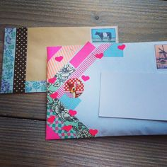 Brighten up your mail! [ From: http://tantejanniespostkamer.com ]