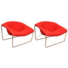 Olivier Mourgue; 'Cubic' Chairs for Airbourne International, 1968.