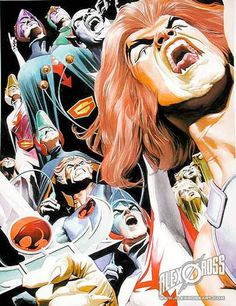 Battle Of The Planets* vs Thundercats by Alex Ross